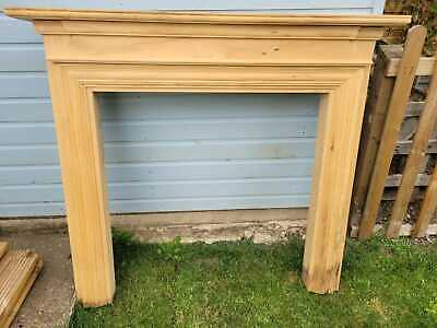 £55 • Buy Solid Pine Fire Surround Mantlepiece BARGAIN NEW PRICE £55
