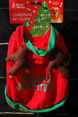 £3.99 • Buy Rudolph Christmas Pet Outfit