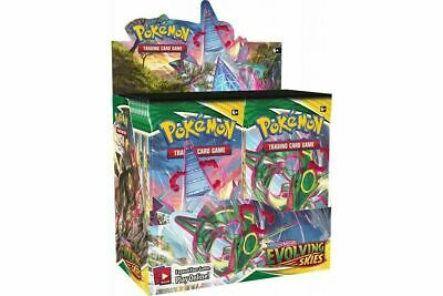 AU250 • Buy *IN STOCK* POKEMON TCG Sword And Shield Evolving Skies Booster Box | 36 Boosters