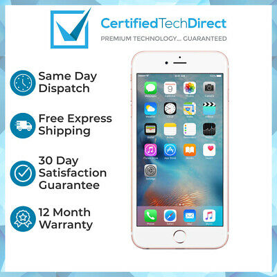 AU144 • Buy Apple IPhone 6S 64GB Rose Gold A1688- (Great Condition) 12 Month Warranty