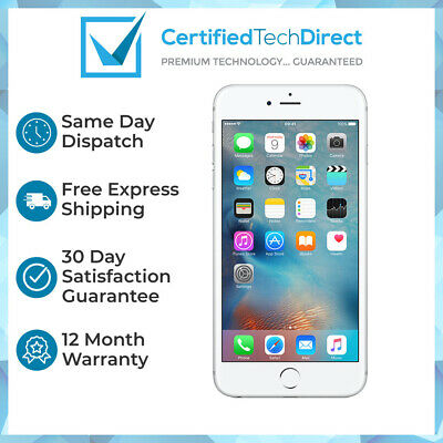 AU144 • Buy Apple IPhone 6S 64GB Silver A1688 - (Great Condition) 12 Month Warranty