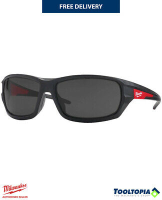 £16.99 • Buy Milwaukee 4932471884 Performance Safety Glasses PPE Eye Protection - Tinted