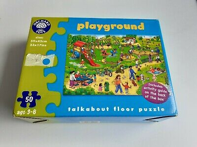 £5 • Buy Orchard Toys Playground Talkabout Floor Puzzle 50 Pieces 😺