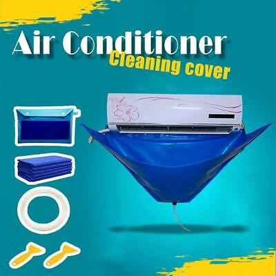 AU23.02 • Buy Wash Cover Air Conditioner Cleaning Bag Wall Mounted Protector Waterproof New
