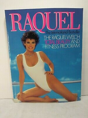 £3.63 • Buy Raquel Welch Total Beauty And Fitness Program Book Vintage 80's EUC
