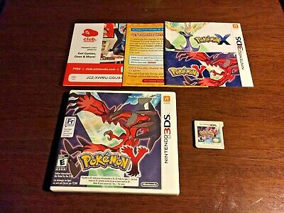 $16.95 • Buy Pokemon Y Nintendo 3DS Tested. Authentic. English/French On Case