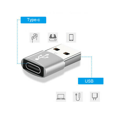 AU3.94 • Buy Fast Charger PD Plug Adapter 3.0 Type-C Cable Adapter For IPhone 12 11 Max Pro