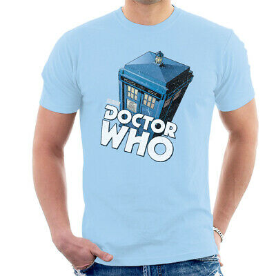 £9.95 • Buy Men's Doctor Who Classic Tardis T-shirt, Blue Small Top