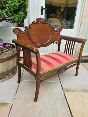 £95 • Buy Edwardian Sofa Couch Bench