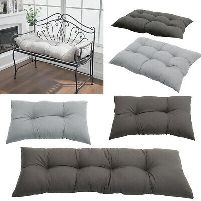 £17.95 • Buy Garden Bench Cushion Seater Indoor & Outdoor Chair Cushions Soft Thick Seat Pad