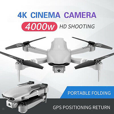 AU107.70 • Buy F3 Drone With 4K Camera For Adults RC 5G Auto Return Home 6-Axis Gimbal