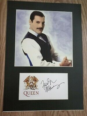 £4.99 • Buy Freddie Mercury 'Queen' Signed Photo A4 Repro / Print