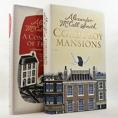 AU24.95 • Buy Alexander McCall Smith 2 X Book Bundle Corduroy Mansions Conspiracy Of Friends