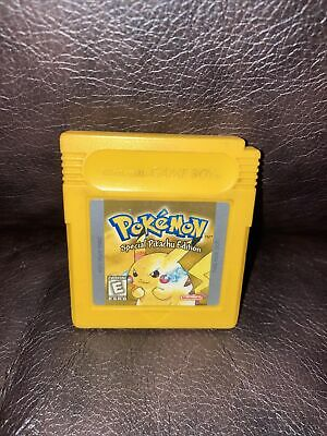 $49.99 • Buy Pokemon Yellow Special Pikachu Edition Nintendo Game Boy Gameboy Authentic SAVES