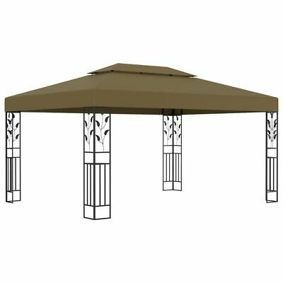 AU206.95 • Buy Elegant Garden Gazebo Steel Frame Vented Roof Canopy 3x4m Outdoor Party Tent