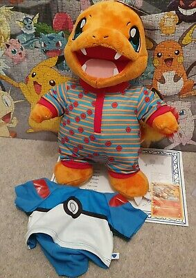 $101.20 • Buy Build A Bear Pokemon Charmande Online Exclusive Bundle With Sounds And Card BNWT
