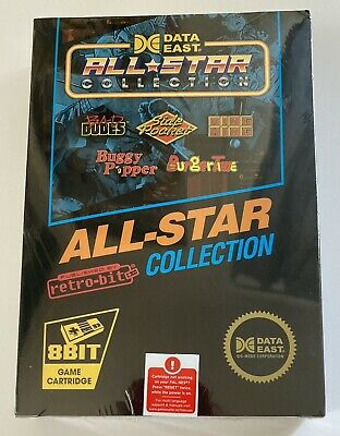 £20.55 • Buy Data East All-Star Collection - NES - Neuf - Burger Time, Bad Dudes