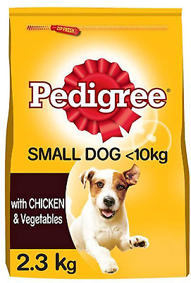 £14.31 • Buy Pedigree Adult Small Dog Complete And Balanced Dry Dog Food With Chicken And