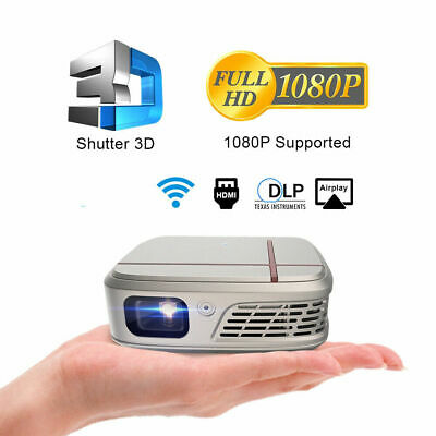 £217.79 • Buy 3300LMS Pico DLP Projector 3D Home Cinema USB HDMI WiFi Airplay For IPhone HDMI