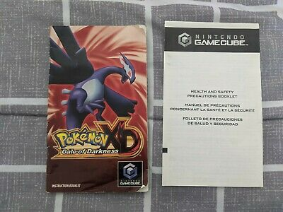 $80 • Buy Pokemon XD Gale Of Darkness {{ Authentic Manual Only }} - Nintendo Gamecube