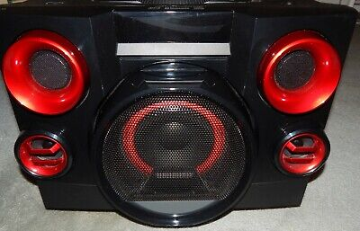 £130.15 • Buy Stereo Home Music System CD Player Blue Tooth Flashing Disco Lights New