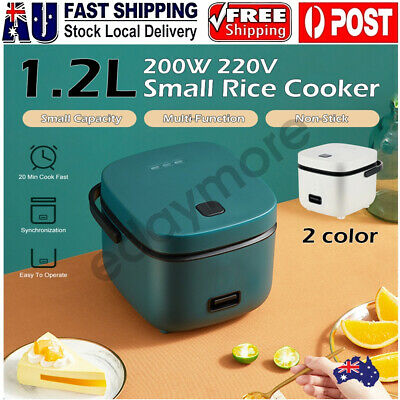 AU46.88 • Buy 1.2L Portable Electric Rice Cooker Mini Small 3 Cups For 1-2 Person Kitchen Home