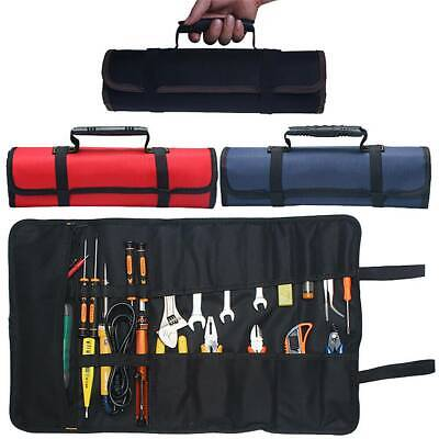 £10.63 • Buy 22 Pockets Roll Up Tool Bag Spanner Wrench Screwdriver Foldable Storage Pouch UK