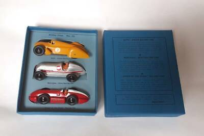 £139 • Buy Dinky Gift Set 23 Pre War Racing Cars - Refinished