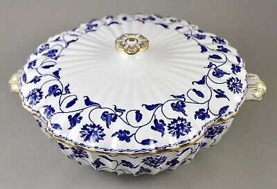 £60 • Buy Spode China England Blue Colonel Y6235 Vegetable Tureen Dish & Cover Excellent!
