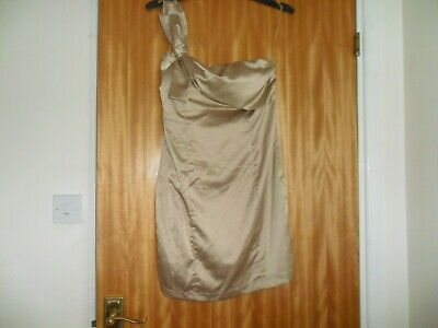 £13.95 • Buy Ladies Gold Party Dress Approx Size 8  - Eva & Lola - Never Worn