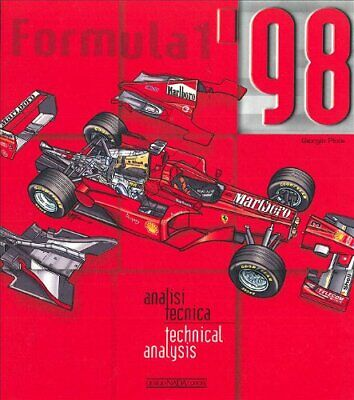£90.75 • Buy FORMULA 1 '98 TECHNICAL ANALYSIS By Piola **Mint Condition**