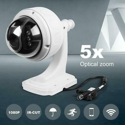 £98.48 • Buy 5X ZOOM 4 In 1 Outdoor HD 1080P PTZ Camera Dome Home Security IR Cam Kit IP66