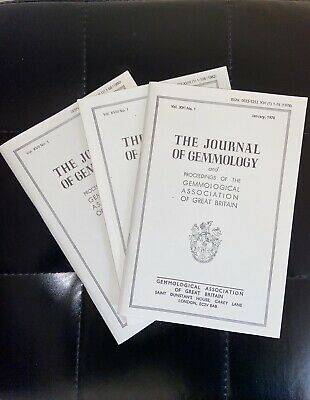 £19.99 • Buy The Journal Of Gemmology - Gemmological Association Of GB (1964-1982), 24 Issues
