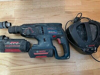 £120 • Buy Bosch GBH 36 VF-LI Sds Hammer Drill With 2 Batteries And Charger