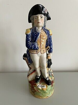 £45 • Buy Staffordshire Pottery Admiral Lord Nelson Toby Jug