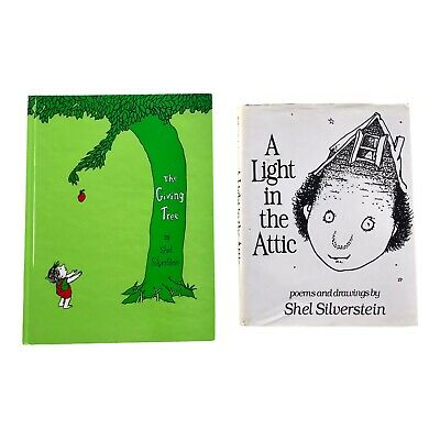 £11.63 • Buy Shel Silverstein Book Lot With CD A Light In The Attic & The Giving Tree HC