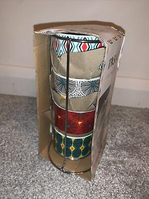 £5 • Buy 4x French Coffee Cups And Stand. Tasses. 15cl. New In Packaging.