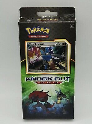 $19.99 • Buy Pokemon TCG Knock Out Collection Lucario W/ 2 Booster Packs New Factory Sealed