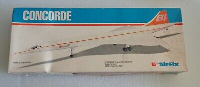 £29.15 • Buy New In Box Vintage 1979 Usairfix Airfix Concorde 1:144 Scale Model Kit #60525
