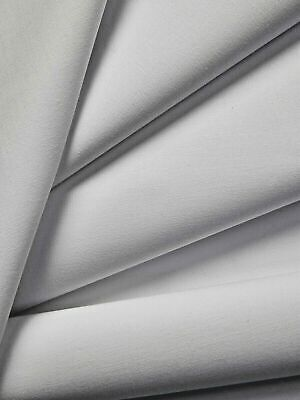 £5.75 • Buy Double Width White Cotton Twill Curtain Lining Fabric Material 274cm Wide - 160g