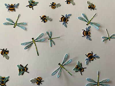 £3 • Buy Tattered Lace  Dragonflies And Bumble Bees Die Cuts Card Topper X6 Sets
