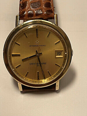 £35.64 • Buy ETERNA-MATIC CENTENAIRE 71 Vintage Automatic Watch For Men Used
