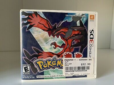 $12.99 • Buy Pokemon Y (3DS, 2013) CASE AND MANUAL ONLY. NO GAME.