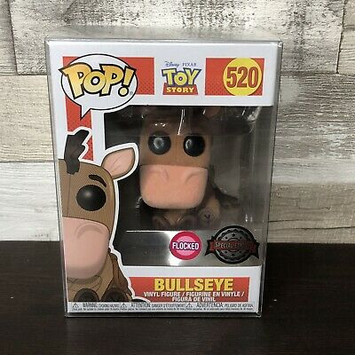 £27.95 • Buy Funko Pop Toy Story Flocked Bullseye #520 Exclusive - Special Edition