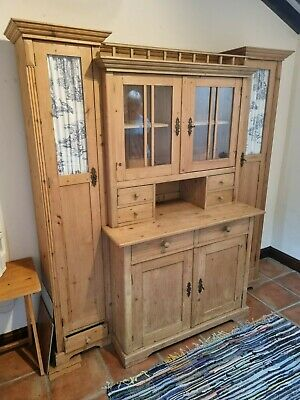 £77 • Buy Beautiful Country Kitchen Dresser With Display And Storage. Good Condition.
