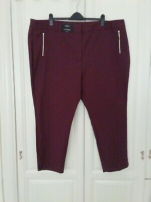 £3.99 • Buy Next Tailoring Cropped Tapered Trousers - Size 26R BNWT