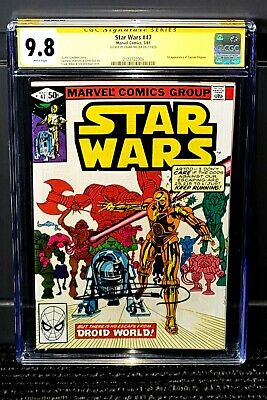 £289.76 • Buy Star Wars #47 CGC 9.8 SS Signed Frank Miller White Pages NM