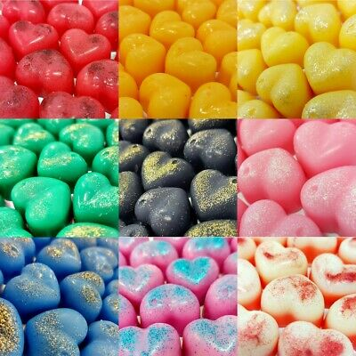 £2 • Buy 30g Small Hearts Wax Melts Highly Scented Eco Soy Wax Designer Fragrances Dupes