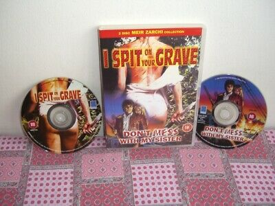 £9.95 • Buy I Spit On Your Grave Don't Mess With My Sister Dvd Meir Zarchi Rare Oop Uk Press