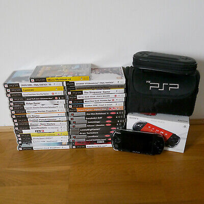 £199 • Buy Sony PSP 3003 Piano Black With 33 Games + Extras.